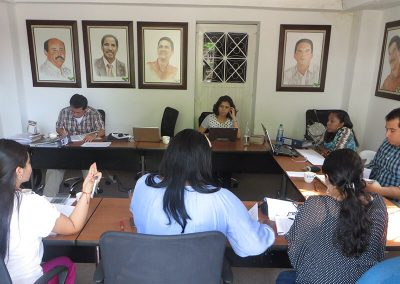 Evaluation and monitoring journal / Miranda, Cauca.