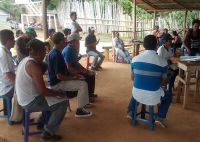 Caloto workshop, Cauca.