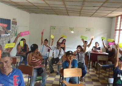 Role identification / Corinto, Cauca.