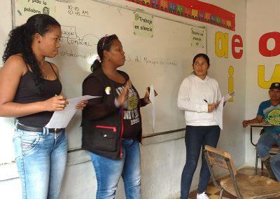 Socialization and workshop Vereda Jagual / Corinto, Cauca.