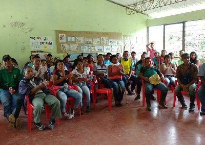 Role workshop La Capilla / Corinto, Cauca.